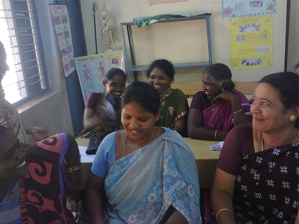 "Life skills training for parents of Infant Matriculation school_1"", Trichy"