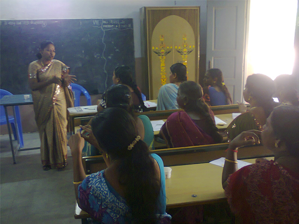 Life skills training for parents of Infant Matriculation school, Trichy